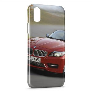 Coque iPhone XR BMW Rouge 4