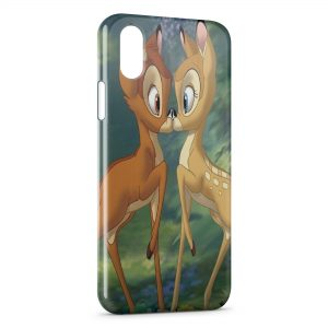 Coque iPhone XR Bambi Love 2