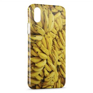 Coque iPhone XR Bananes