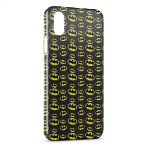 Coque iPhone XR Batman Logos