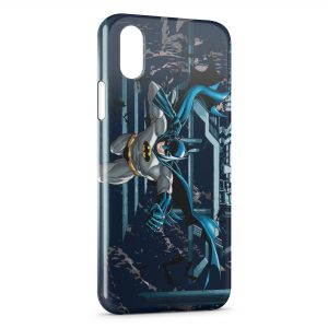 Coque iPhone XR Batman Vintage