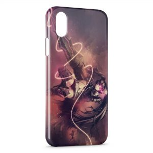 Coque iPhone XR Black Rock Shooter 2