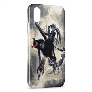 Coque iPhone XR Black rock shooter BRS Manga