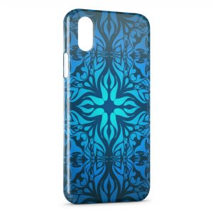 Coque iPhone XR Blue Style Effects