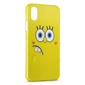 Coque iPhone XR Bob l'eponge 8