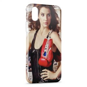 Coque iPhone XR Boxeuse 2