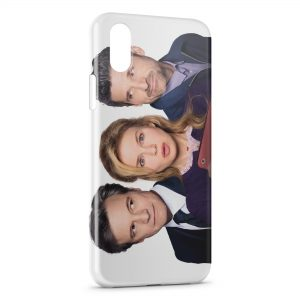 Coque iPhone XR Bridget Jones Colin Firth Renée Zellweger Patrick Dempsey