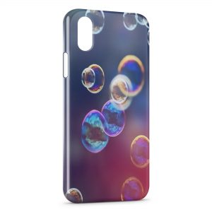 Coque iPhone XR Bubbles