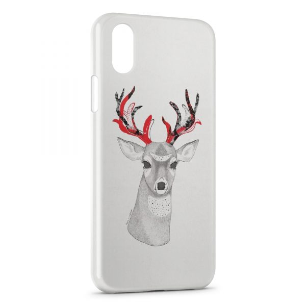 coque iphone 8 hipster cerf