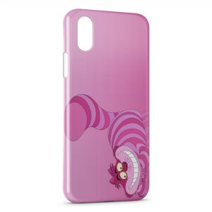 Coque iPhone XR Chat de Cheshire Alice au pays des merveilles 2