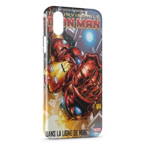 Coque iPhone XR Comics Iron Man