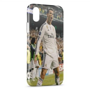 Coque iPhone XR Cristiano Ronaldo 10