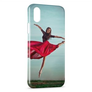 Coque iPhone XR Danseuse