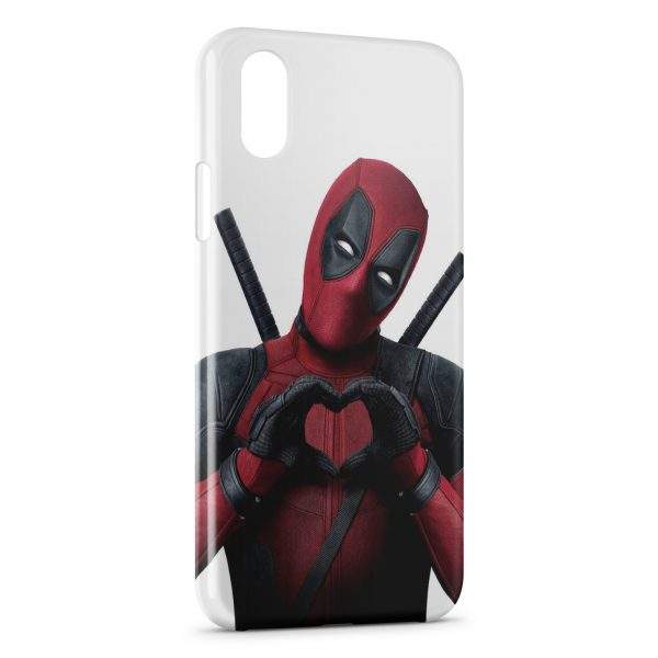 iphone xr coque deadpool