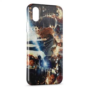 Coque iPhone XR Doctor Who & Amy Pond