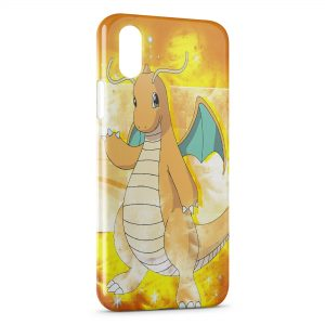 Coque iPhone XR Dracaufeu pokemon 3