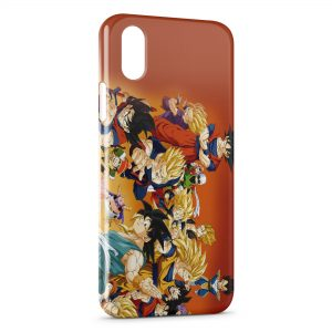 Coque iPhone XR Dragon Ball Z Group