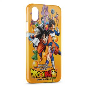 Coque iPhone XR Dragonball Z Super Vintage