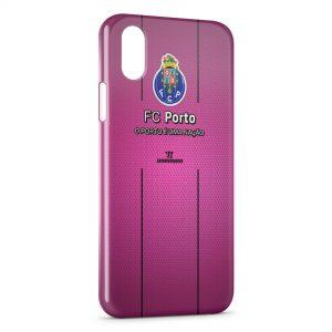 Coque iPhone XR FC Porto Logo Design 3