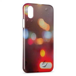 Coque iPhone XR Fenetre & Pluie sur la route