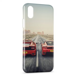 Coque iPhone XR Ferrari Battle
