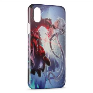 Coque iPhone XR Fille Manga