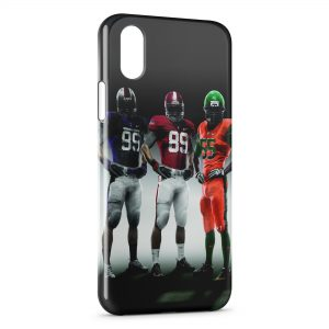 Coque iPhone XR Football Americain