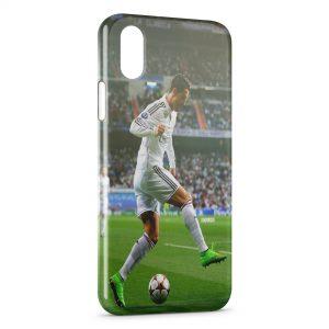 Coque iPhone XR Football Cristiano Ronaldo 2
