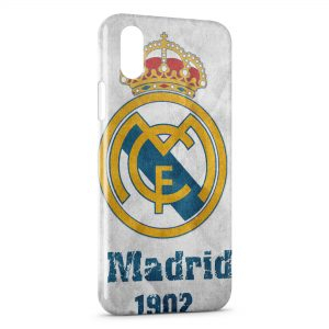 Coque iPhone XR Football Real Madrid CF 2