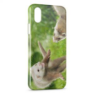 Coque iPhone XR Furet Drôle Fufu Mignon