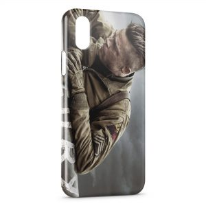 Coque iPhone XR Fury Brad Pitt
