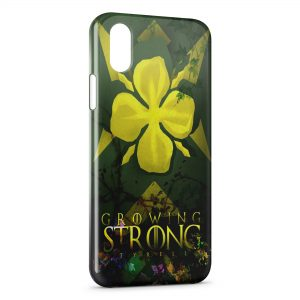 Coque iPhone XR Game of Thrones Growing Strong Tyrrell