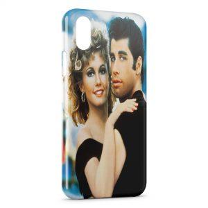 Coque iPhone XR Grease Olivia Newton-John John Travolta