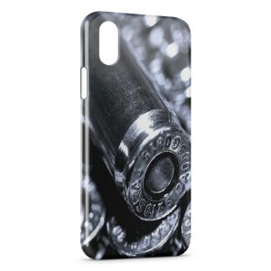 Coque iPhone XR Gun Pistolet Balles