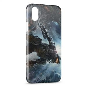 Coque iPhone XR Halo 4