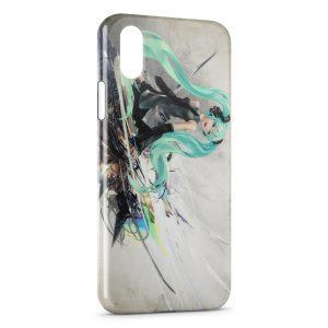 Coque iPhone XR Hatsune Miku 2