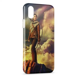 Coque iPhone XR Hunger Games
