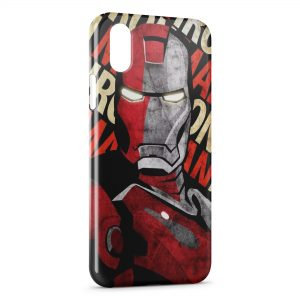 Coque iPhone XR Iron Man Design Art