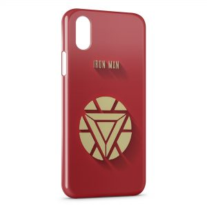 Coque iPhone XR Iron Man Logo