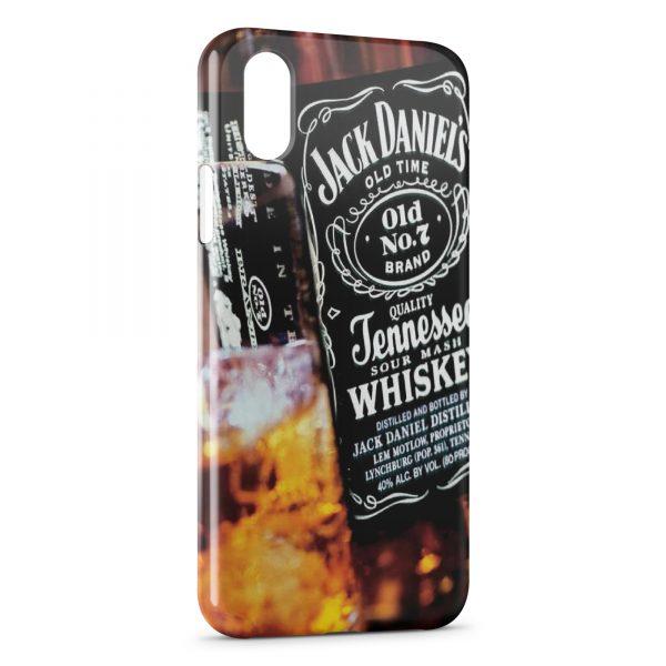 Coque iPhone XR Jack Daniel's Black Design