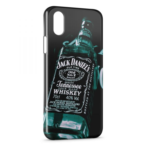Coque iPhone XR Jack Daniel's Black Gold