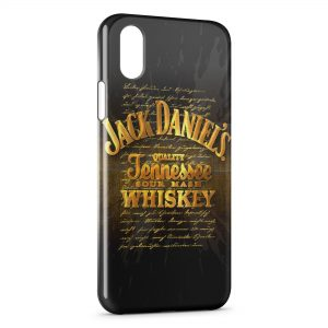 Coque iPhone XR Jack Daniel's Gold Power