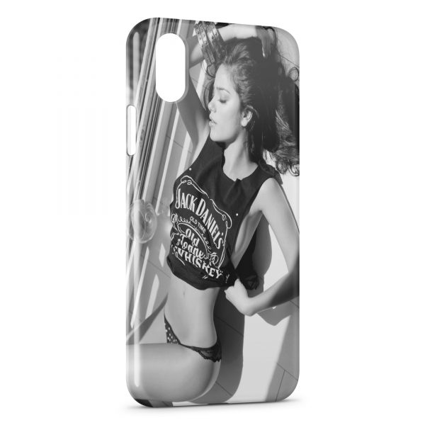 Coque iPhone XR Jack Daniel's Sexy Girly 3