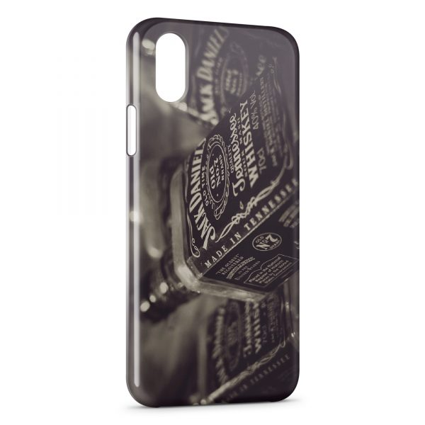 Coque iPhone XR Jack Daniel's Tennessee Whiskey Vintage