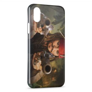 Coque iPhone XR Jack Sparrow