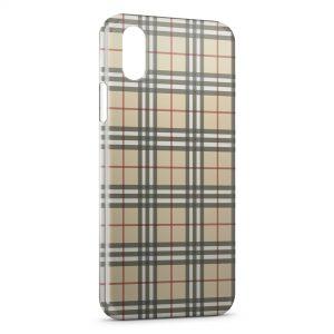 Coque iPhone XR Jaune Texture