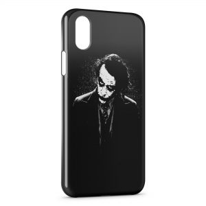 Coque iPhone XR Joker Batman Black