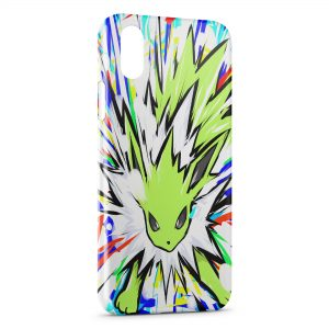 Coque iPhone XR Jolteon Pokemon 22