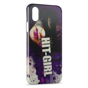 Coque iPhone XR Kickass Hit Girl