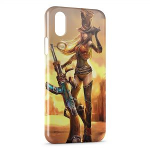 Coque iPhone XR League Of Legends Caitlyn